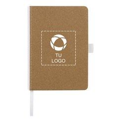 Libreta mediana con tapa de cartón Espresso de Bullet™