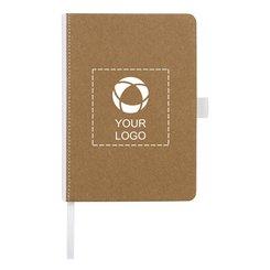 Bullet™ Espresso Medium Size Cardboard Notebook
