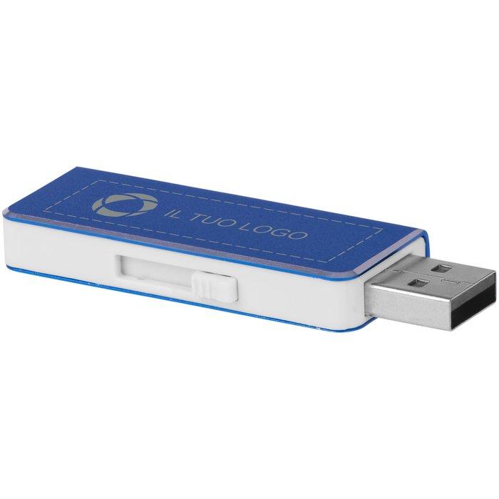Chiavetta USB da 4 GB Glide Bullet™ con incisione a laser