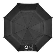 Paraguas plegable de apertura y cierre automáticos Scottsdale de Luxe®
