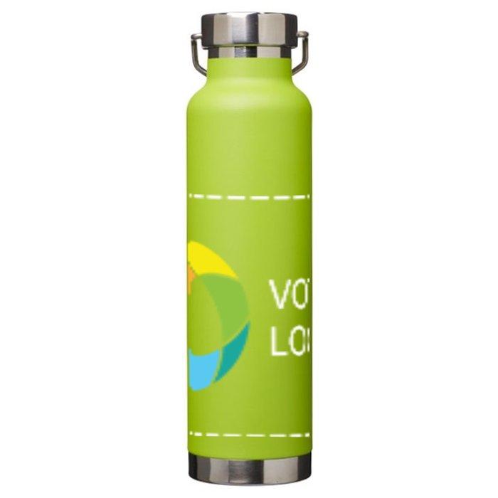 Bouteille isotherme à isolation sous vide en cuivre 650 ml Thor d'Avenue™