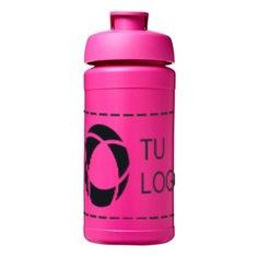 Botella deportiva de 500ml con tapa abatible Plus de Baseline®