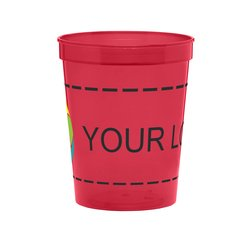 16 oz Ava Plastic Stadium Cup Full Color Inkjet