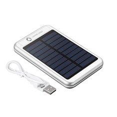 Batterie externe solaire PB-4000mAh gravée au laser Bask d'Avenue™