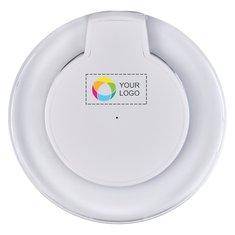 Piastra di carica wireless Meteor Qi® Avenue™ con stampa a colori