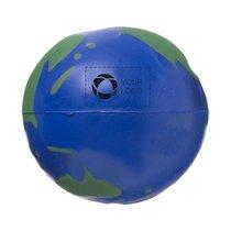 Balle anti-stress mappemonde