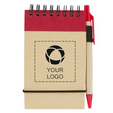 The Recycled Jotter And Pen Notebook