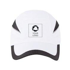 Gorra con franjas de malla Qualifier de Slazenger™ con estampado monocolor