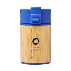 Bicchiere in bambù con isolamento sottovuoto in rame e sistema antigoccia da 200 ml Arca Avenue™