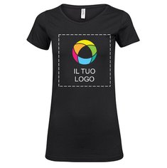 Maglietta da donna a maniche lunghe elasticizzata Fashion Tee Jays®