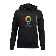 Tee Jays® raglan-sweatshirt med hætte til damer