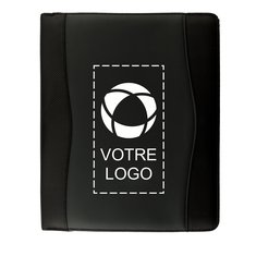 Porte-documents zippé A4 Wave d'Avenue™