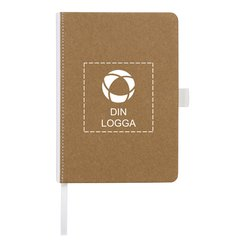 Bullet™ Espresso Medium anteckningsbok med kartongomslag