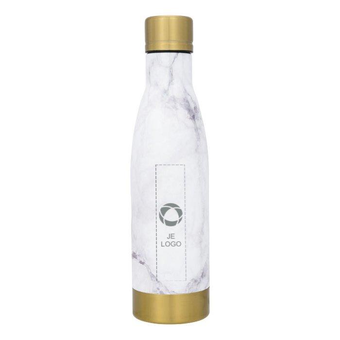 Avenue™ Vasa dubbelwandige fles met vacuümisolatie en marmermotief