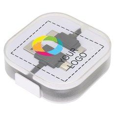 Avenue™ Color Pop Charging Cable Full Colour Print