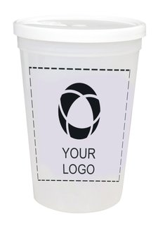 HumphreyLine Shaker 16oz Stadium Cup with Lid