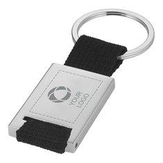 Bullet™ rektangulær nøglering med laserindgravering