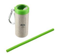 Reusable Straw in Bottle Opener Case