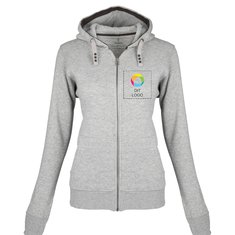 Elevate™ Arora sweater med hætte og lynlås til damer