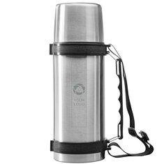 Lasergravierte Thermosflasche Everest mit Riemen von Avenue™