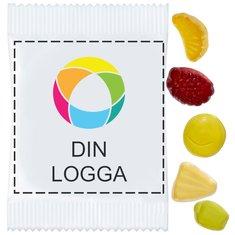 Minifruktgodis med vitaminer, förpackning om 500st.
