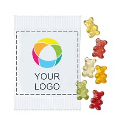 Fruktgodis gummibjörnar Premium, förpackning med 250 st.
