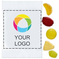Mini chewing-gums vitaminés aux fruits, lot de 500pièces
