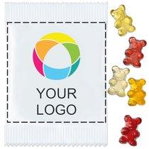 Vegan Fruit Gum Bears, Pack of 500 pieces