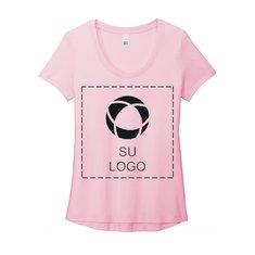 Camiseta Flex Neck para mujer de District®