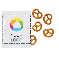 Mini pretzel salati, confezione da 1000 pezzi
