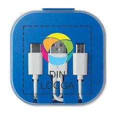 Connecti kabel med fyrfärgstryck