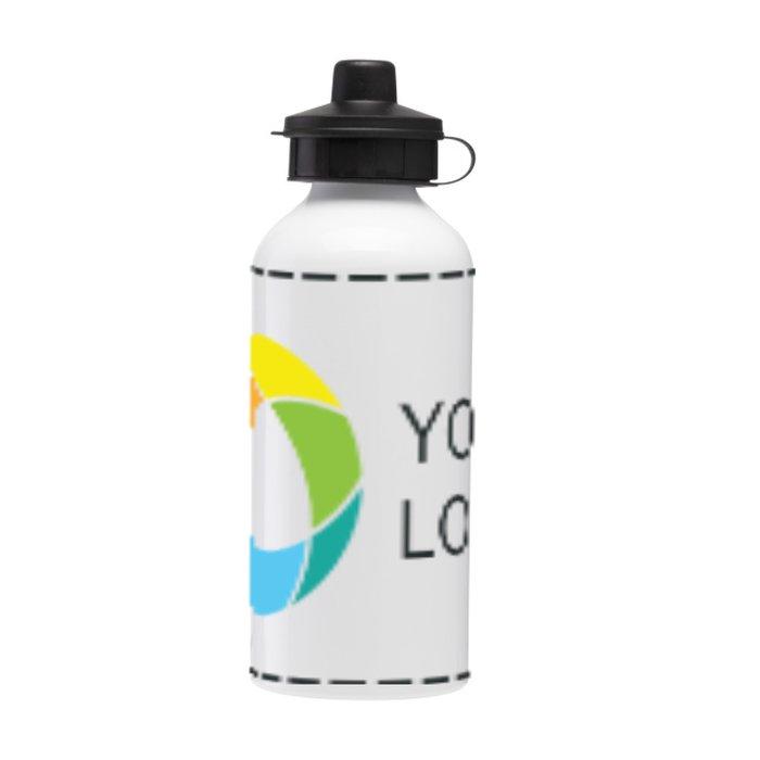 Aluminium 600ml Drink Bottle Full Colour Print