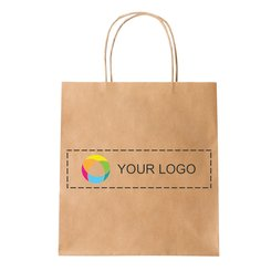 Kleine papieren tas full-colour print