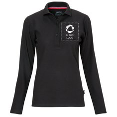 Polo a maniche lunghe da donna Point Slazenger™