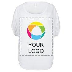 Camiseta vaporosa Circle de Bella + Canvas® para mujer