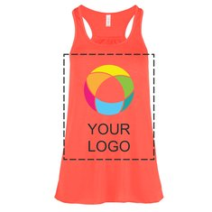 Bella + Canvas® Ink Printed Ladies' Flowy Racerback Tank