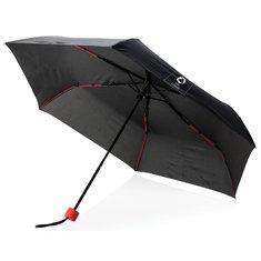 Hopfällbart färgat paraply i glasfiber