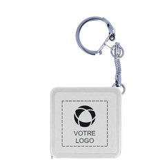 Règle publicitaire en acier d'1 mètre avec porte-clés Watford