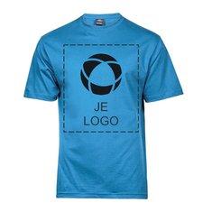 Tee Jays® Sof T-shirt met drukwerk in 1 kleur