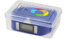 Bullet™ Get-Fitter activiteitenhorloge en stappenteller met full-colour drukwerk