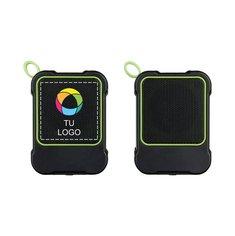 Altavoces con Bluetooth® para uso al aire libre Bond de Avenue™ con estampado a todo color