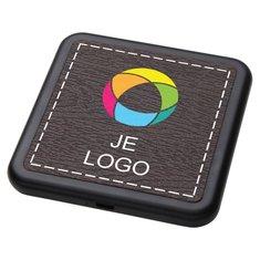 Avenue™ Solstice draadloze oplader met full-colour drukwerk