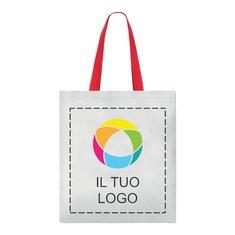 Borsa shopper Cottonel con stampa a colori