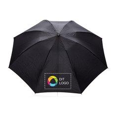 Swiss Peak® sammenfoldelig vendbar paraply med automatisk åbning/lukning