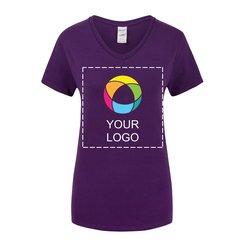 Gildan® Heavy Cotton™ Women's V-Neck T-Shirt