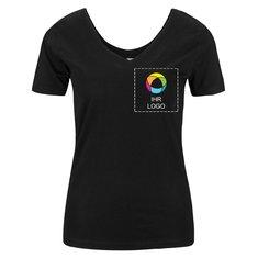Scoop Back V Damen-T-Shirt von Mantis™