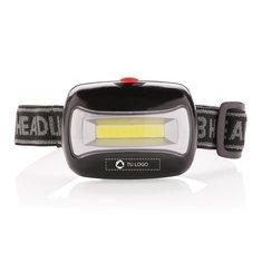 Linterna frontal con tecnología COB