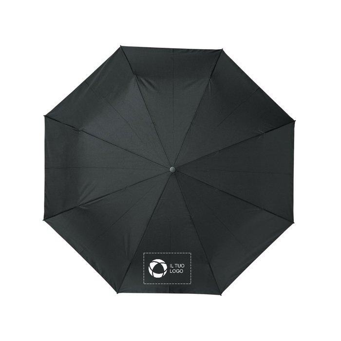 """Ombrello pieghevole da 21"""" con apertura/chiusura automatica in PET riciclato Bo Avenue™"""