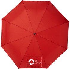 """Avenue™ Alina 23"""" paraply med automatisk uppfällning, av återvunnen PET"""