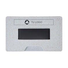 Soporte-tarjetero con inhibidor de RFID Grass de Bullet™